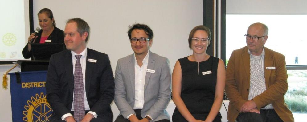 Bernadene Voss, Marcus Pearl, Ogy Simic, Katherine Copsey, David Brand from PPCC- 20-Feb-17