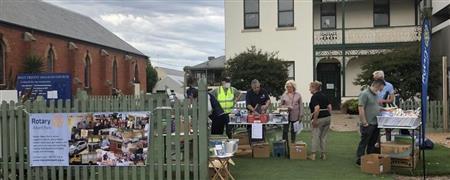Book Sale at Bay St, Port Melbourne