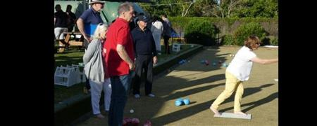 Combined Cluster Barefoot Bowls, 9-Dec-20