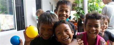 Children at Cambodian Kids Foundation