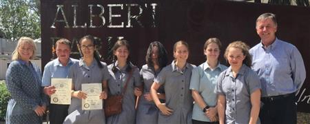 Albert Park College Interact Kids
