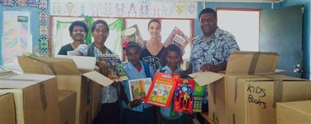 Books for Ratua Foundation, Vanuatu