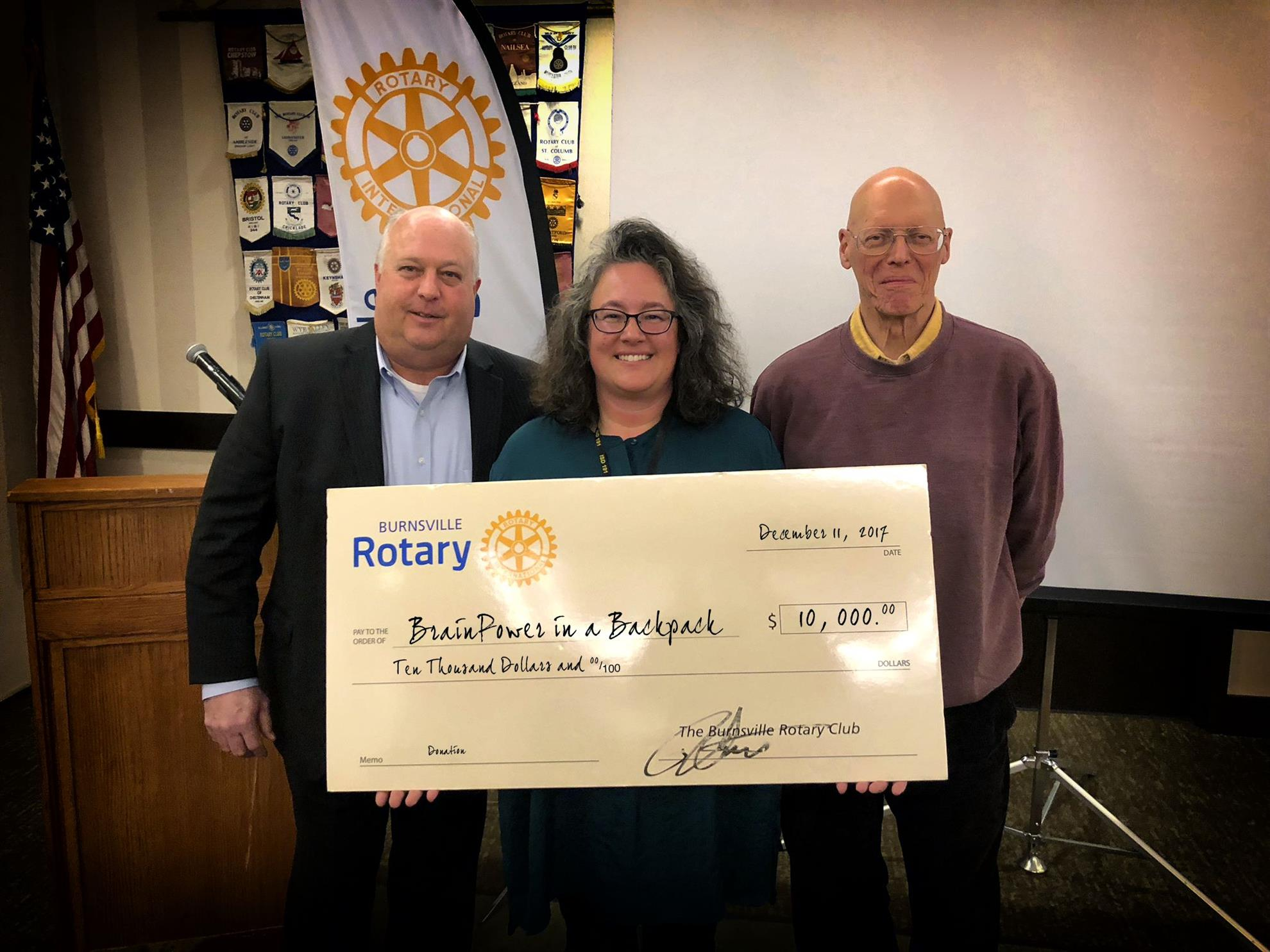 Brain Power in a Backpack check presentation
