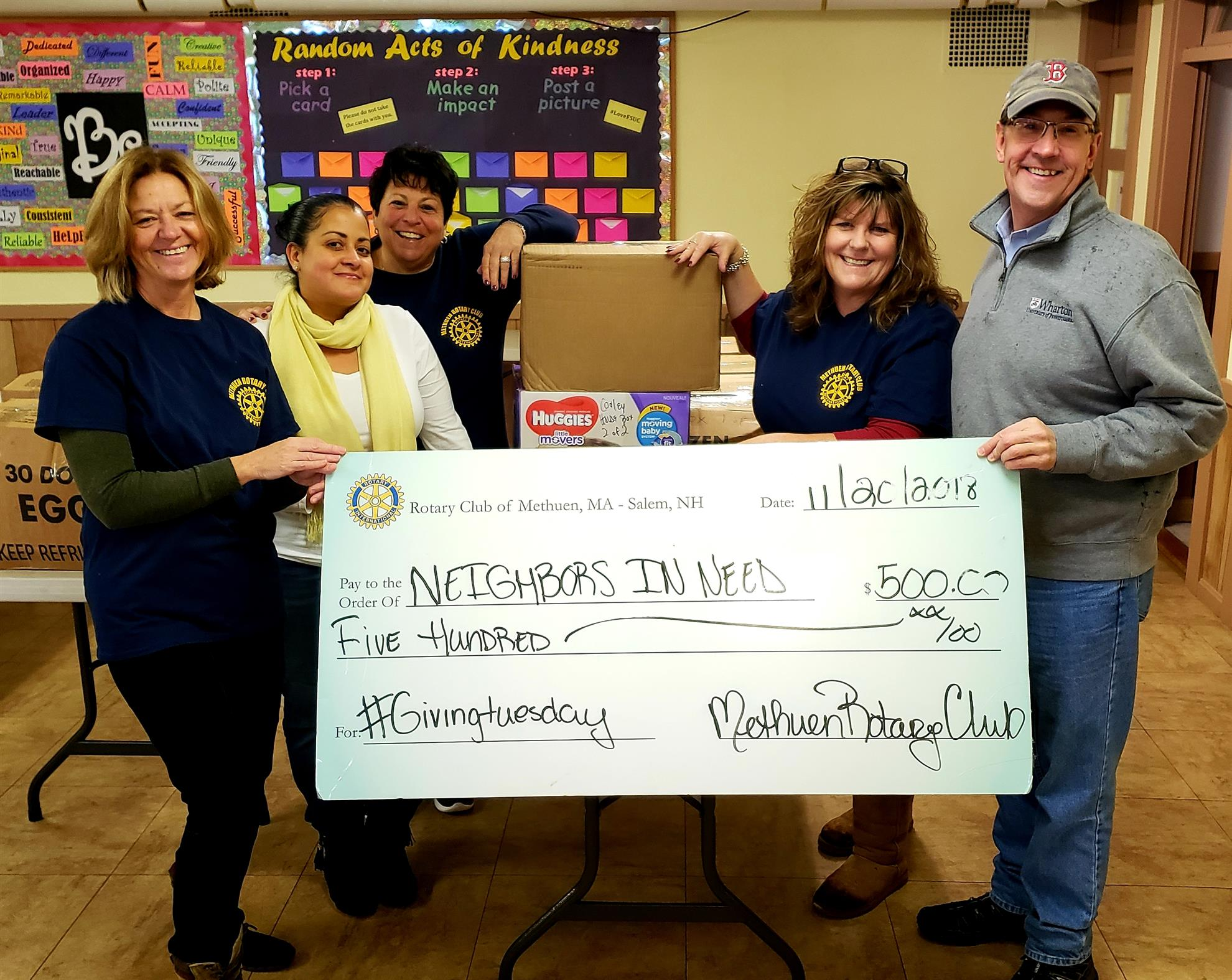 #givingtuesday | Rotary Club of Methuen