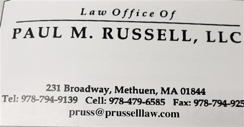 Law Offices Of Paul M. Russell