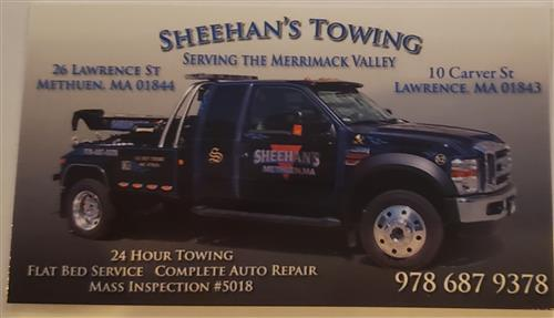 Sheenhan's Towing