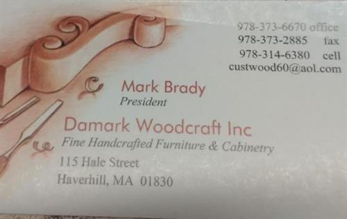 Damark Woodcraft Inc