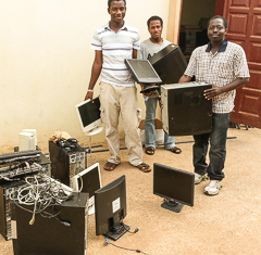 Computers for Ghana schools