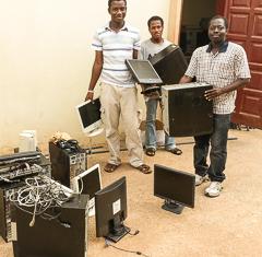 Computers for Ghana schools