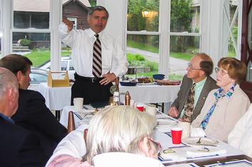 Senator Jack Reed at 2004 meeting