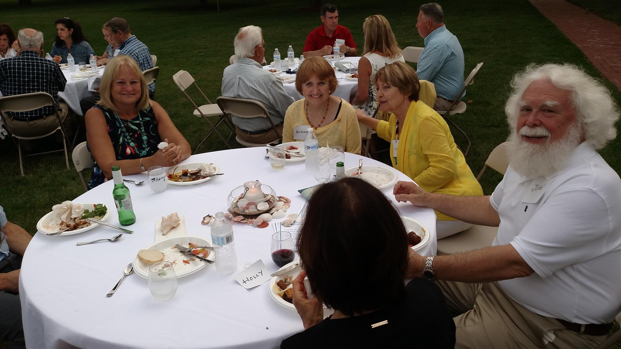 President Wolcott's Guests