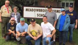 June 2017 Meadowbrook Farm School Grounds Clean-up