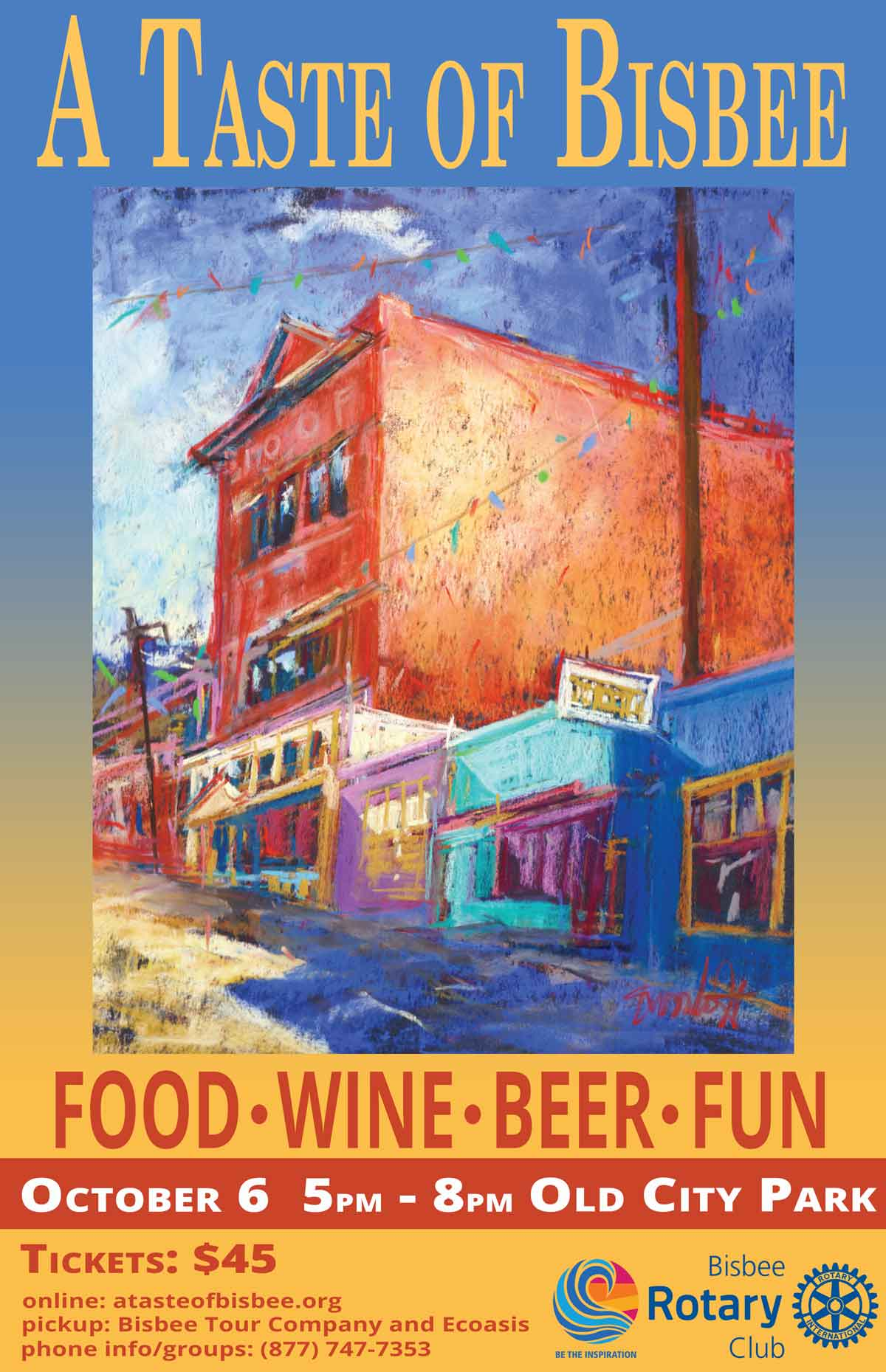 A Taste of Bisbee October 6