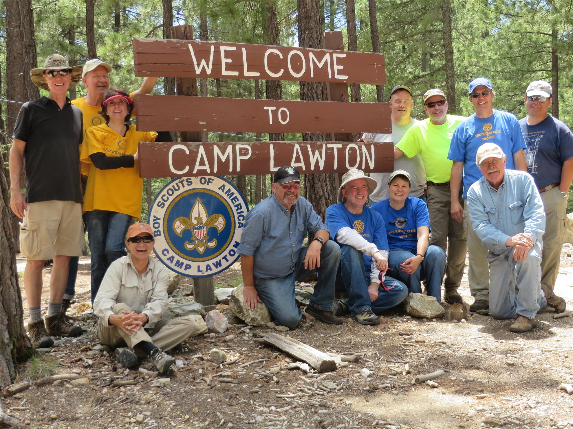 Boy Scout Camp Lawton Rotary Club Of Tucson