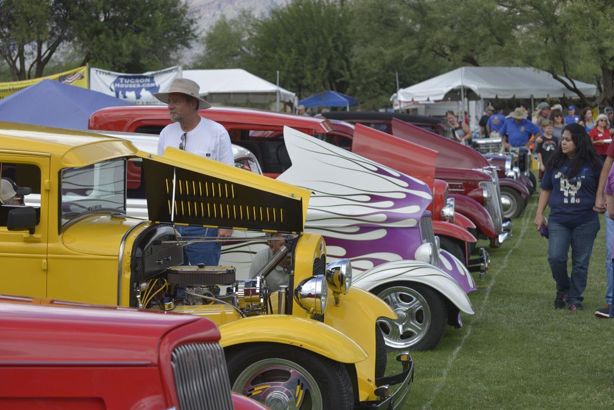 Great job and enormous thanks to Chairman, Roger Harwell and those that  played leading roles to make this year's car show another huge success!