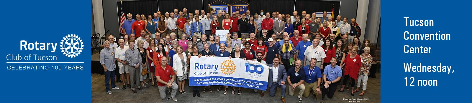 Fellowship with Rotary Club of Tucson . . .