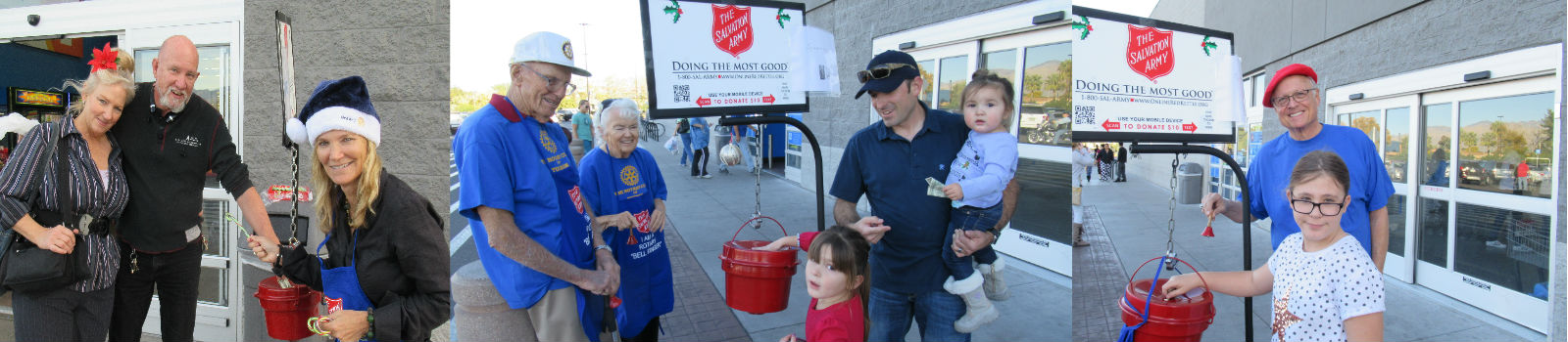 Salvation Army Bell Ringing Work Project