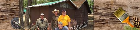 Clean Up Day At Mt. Lemmon Boy Scout Camp
