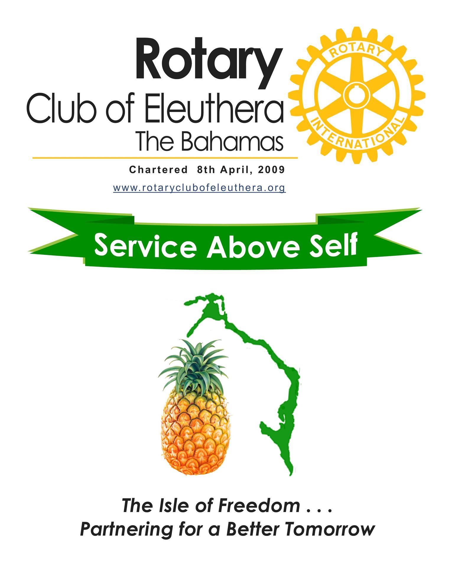 Essay on service above self