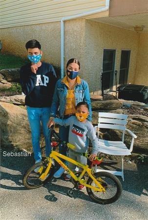 Rotary Zummo Bike to Sebastian Rubio