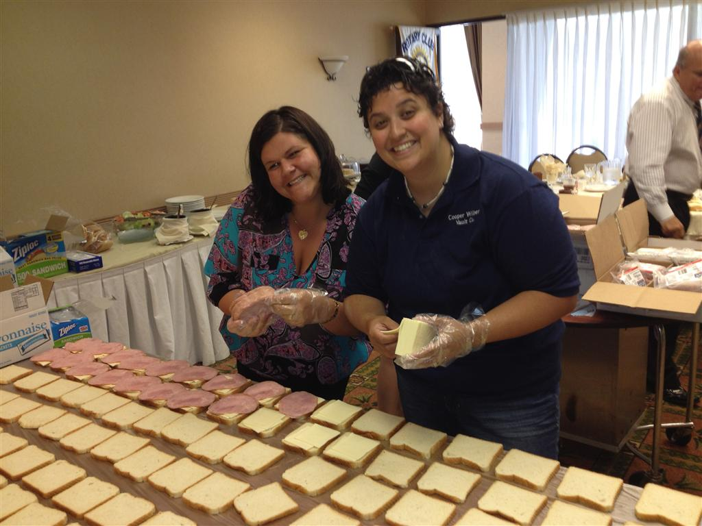 Cathedral Kitchen Sandwich Making Rotary Club Of