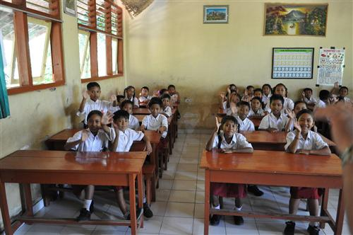Students - SD3 Banyuning School