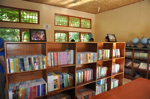 Refurbished library
