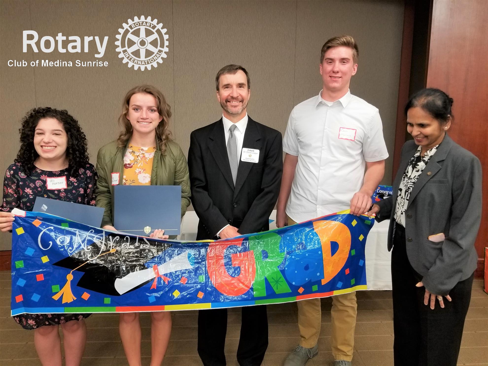 Stories   Rotary Club of Medina Sunrise