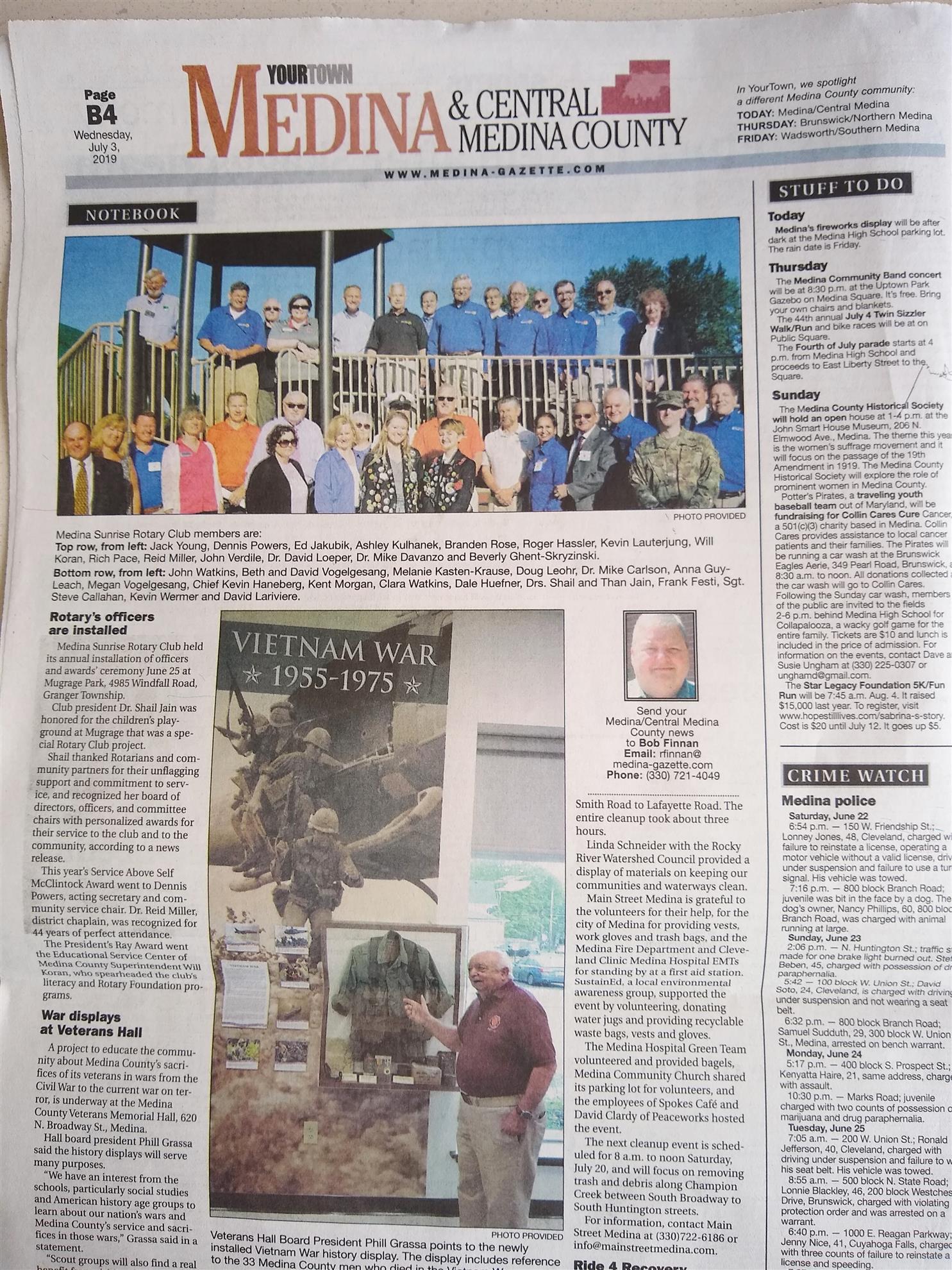 Stories | Rotary Club of Medina Sunrise
