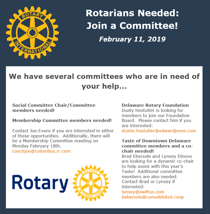 Stories Rotary Club Of Delaware