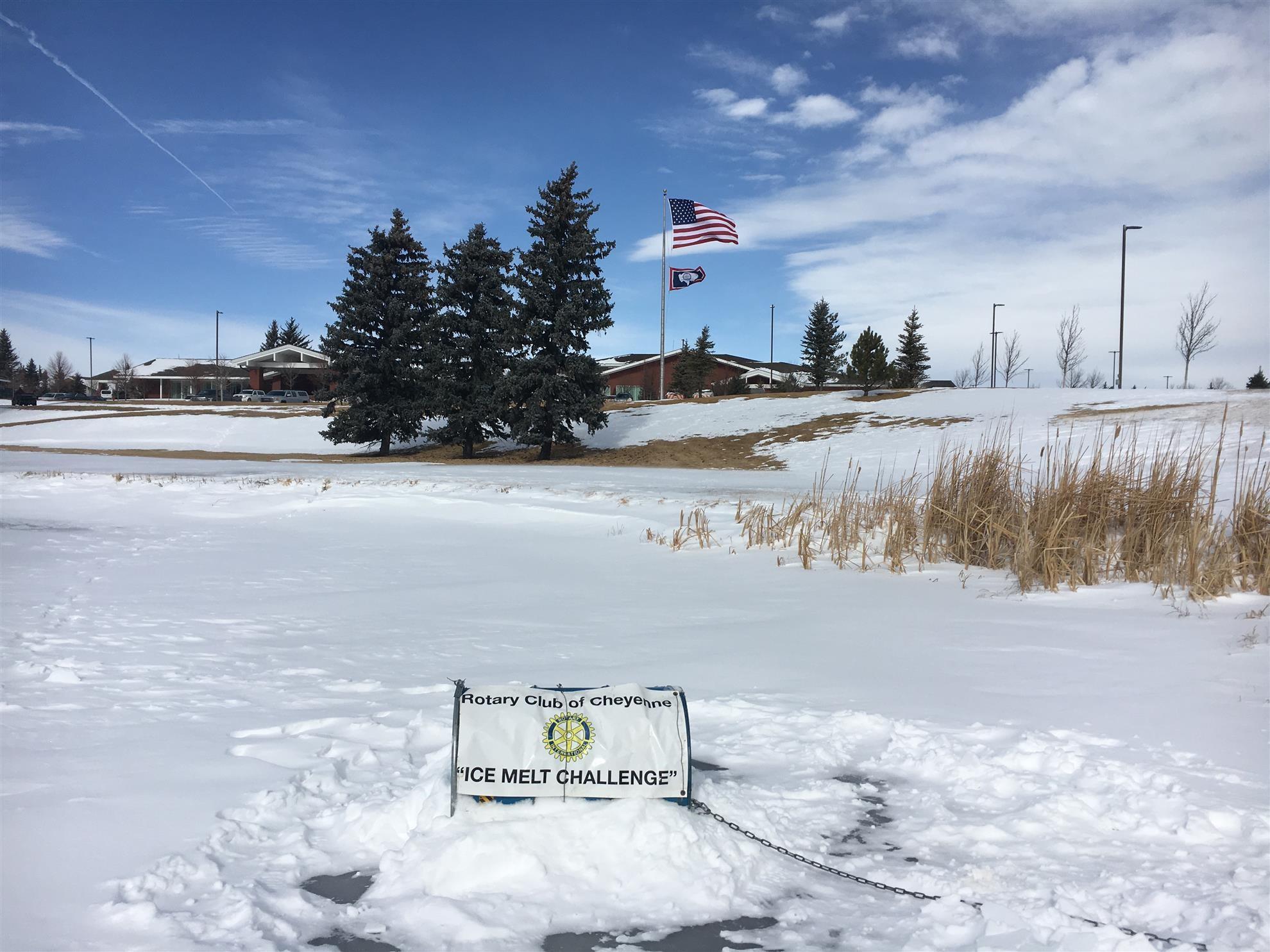 4th Annual Ice Melt Challenge is Underway