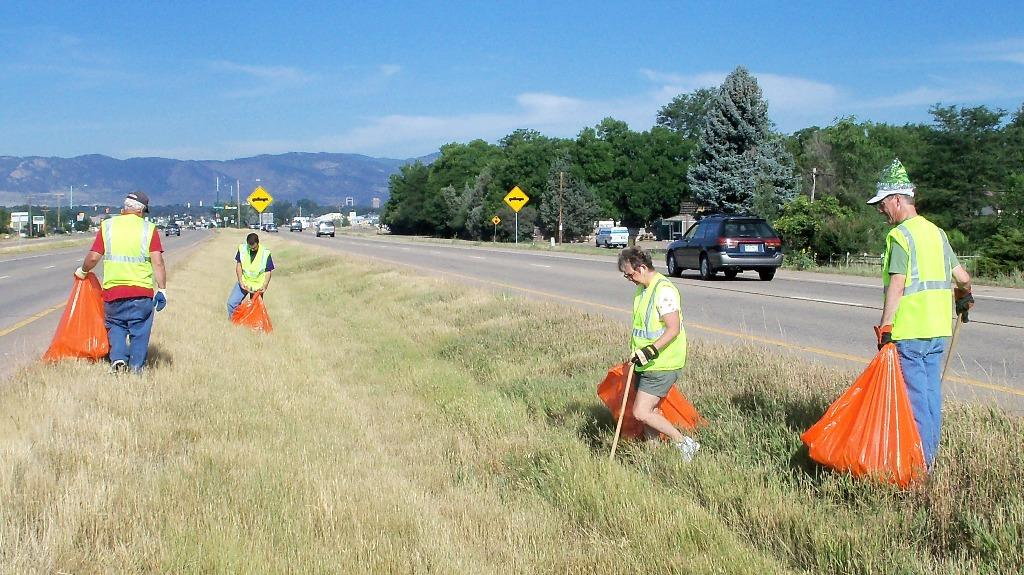 Rotary Highway Cleanup