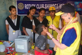 Rotary Club of Fort Collins in India