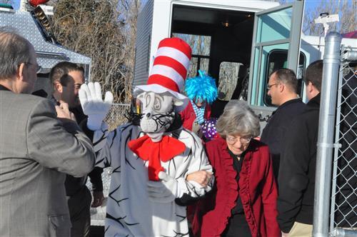 "Help Dr Suess bring the ""Cat in the Hat"" to Gannett Peak Elementary School"
