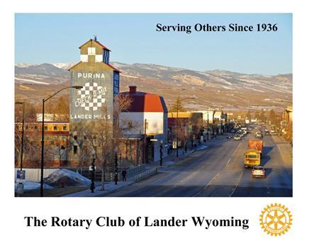 Lander Rotary Club