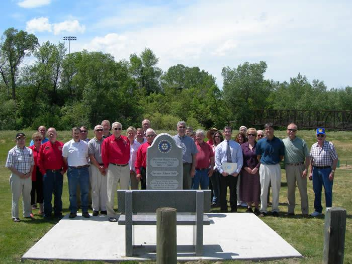 2006 Sheridan Rotary Pathways Project