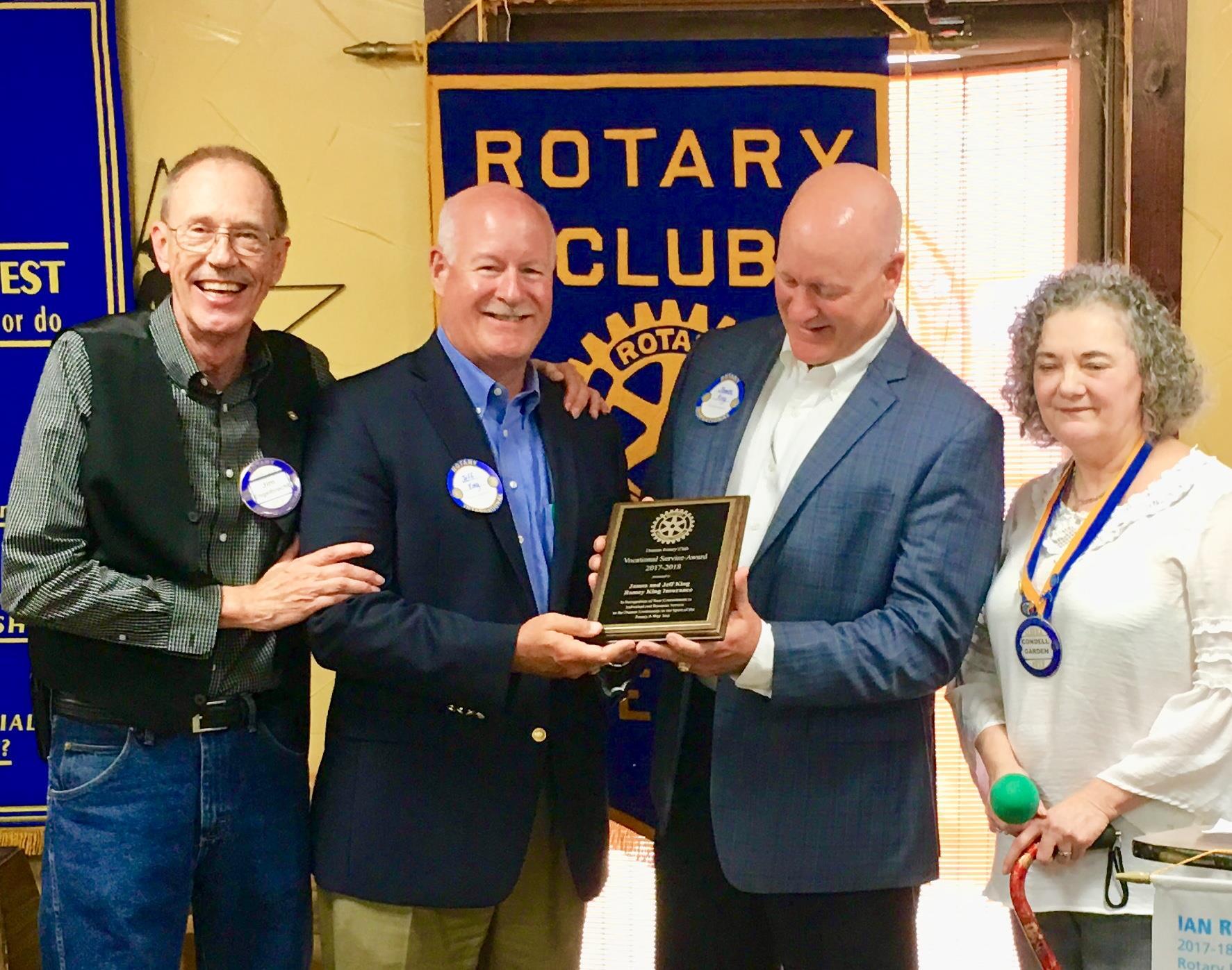 Ramey King Denton Rotary Club