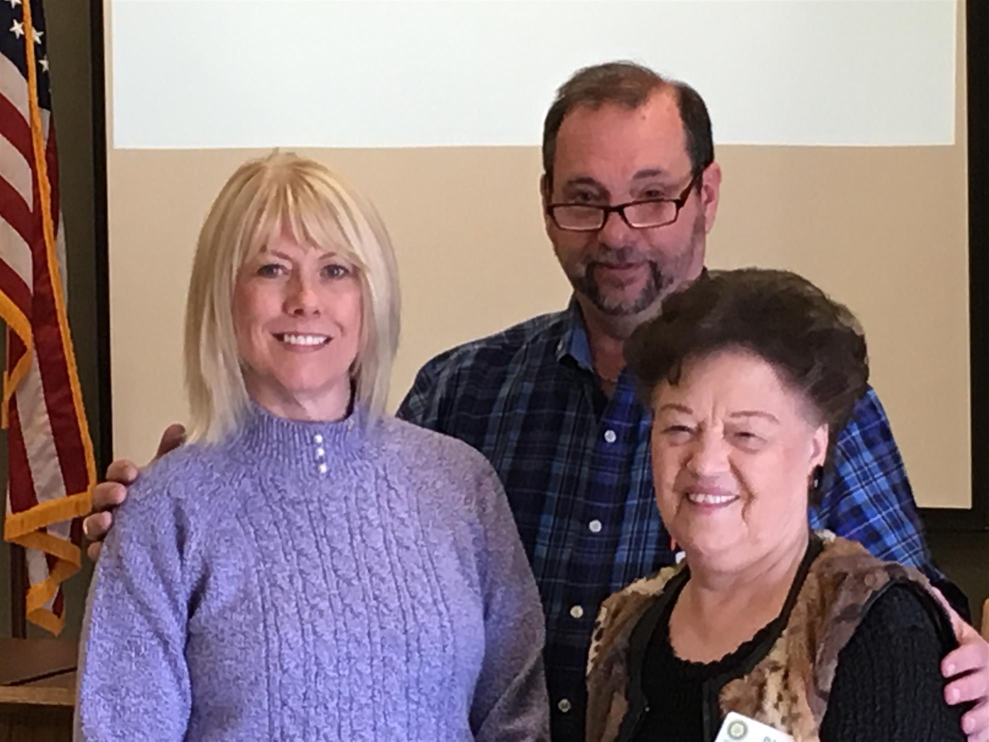 Laurie Munson, Mel Feller, Pat Norriss