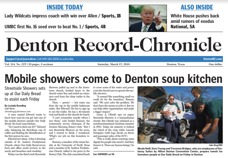 denton texas newspaper