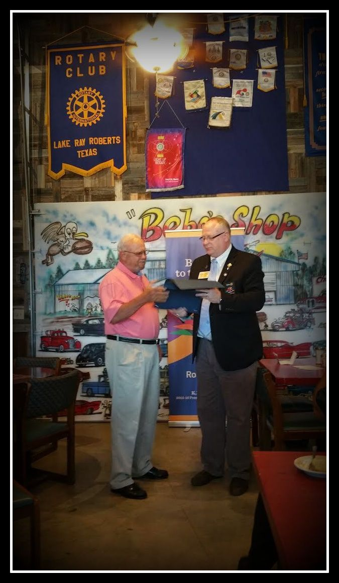 Honoring John Massey for his service in Vietnam