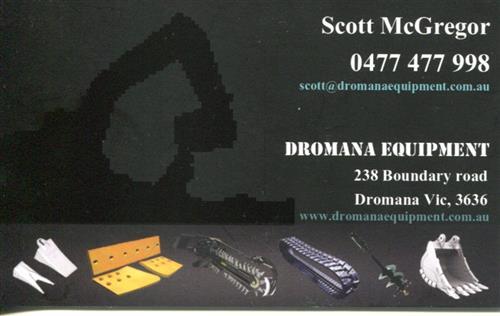 Dromana Equipment