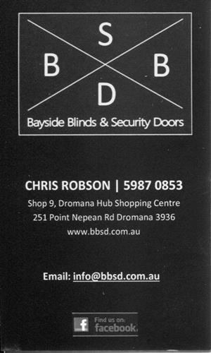 BAYSIDE BLINDS & SECURITY DOORS