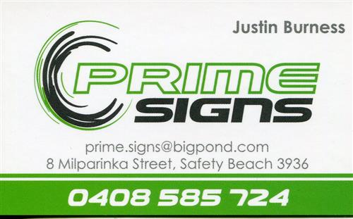 Prime Signs