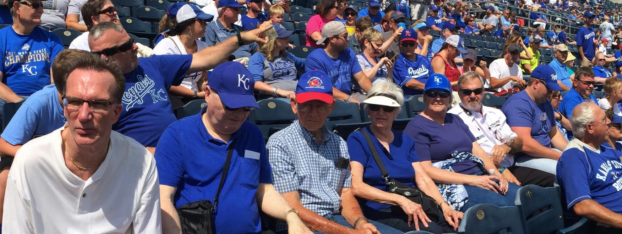 Some of the members of the Rotary Club of Newton boarded a bus September 4  with a destination of Kauffman Stadium to watch the Royals play the Detroit  ... 3312b92bf2d0