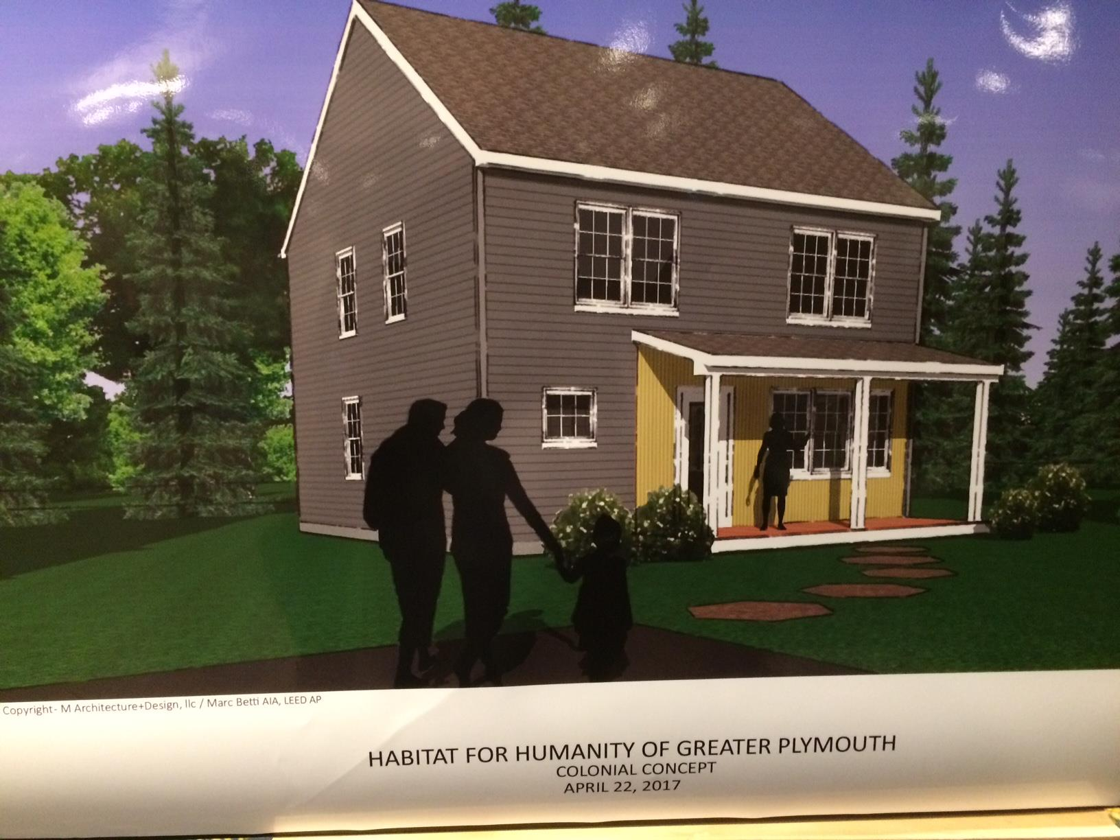 Planned home for a Veteran