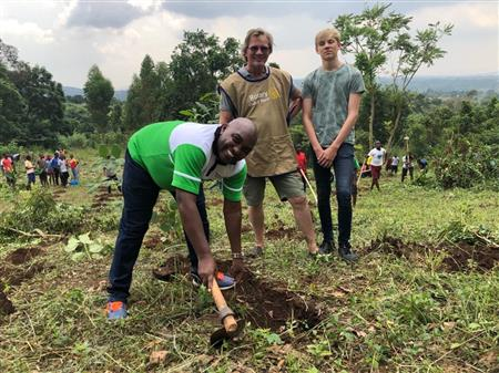 Mission Green; Over 5,000 tress planted