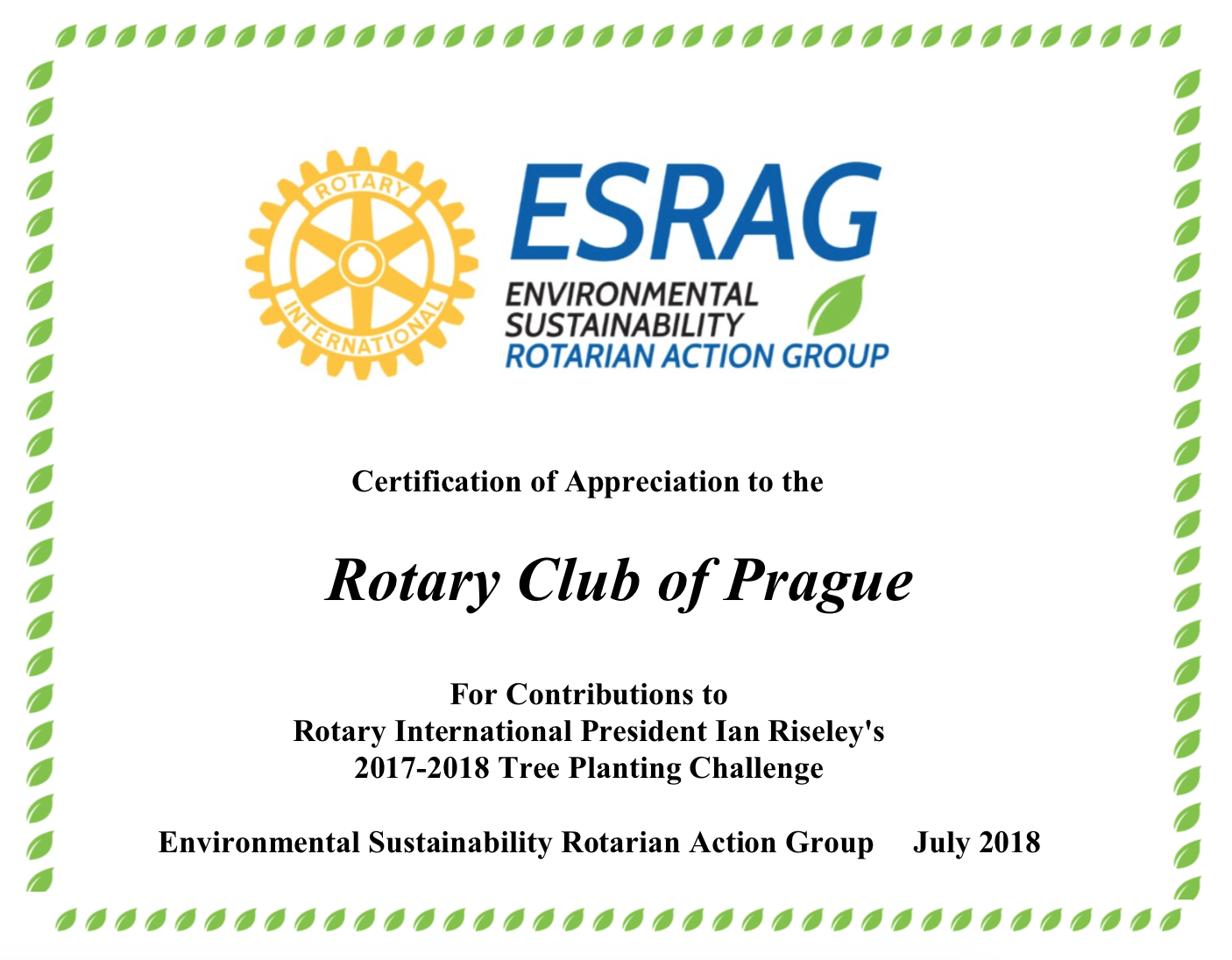rotary certificate of appreciation template new sle.html