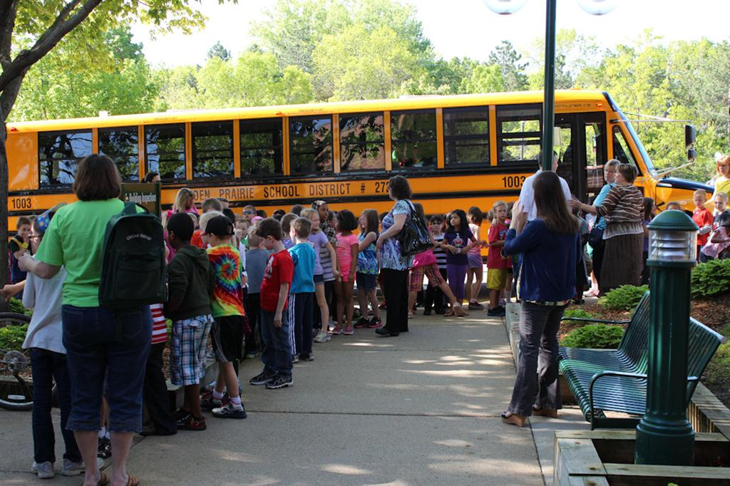 Students Arrive