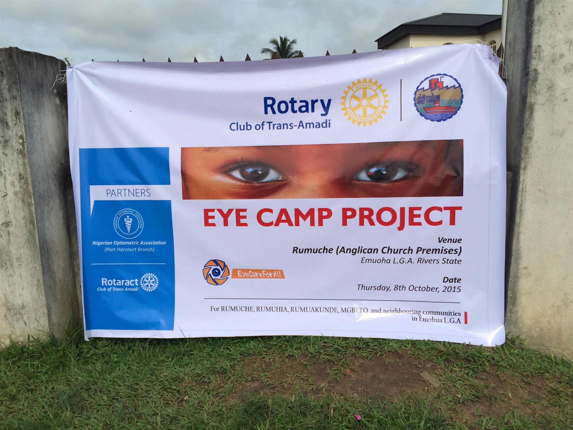 Eye Camp Project