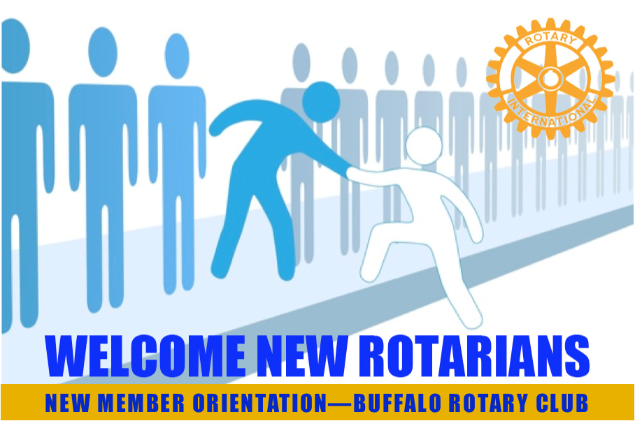 New Member Orientation meeting reminder | Rotary Club of Buffalo